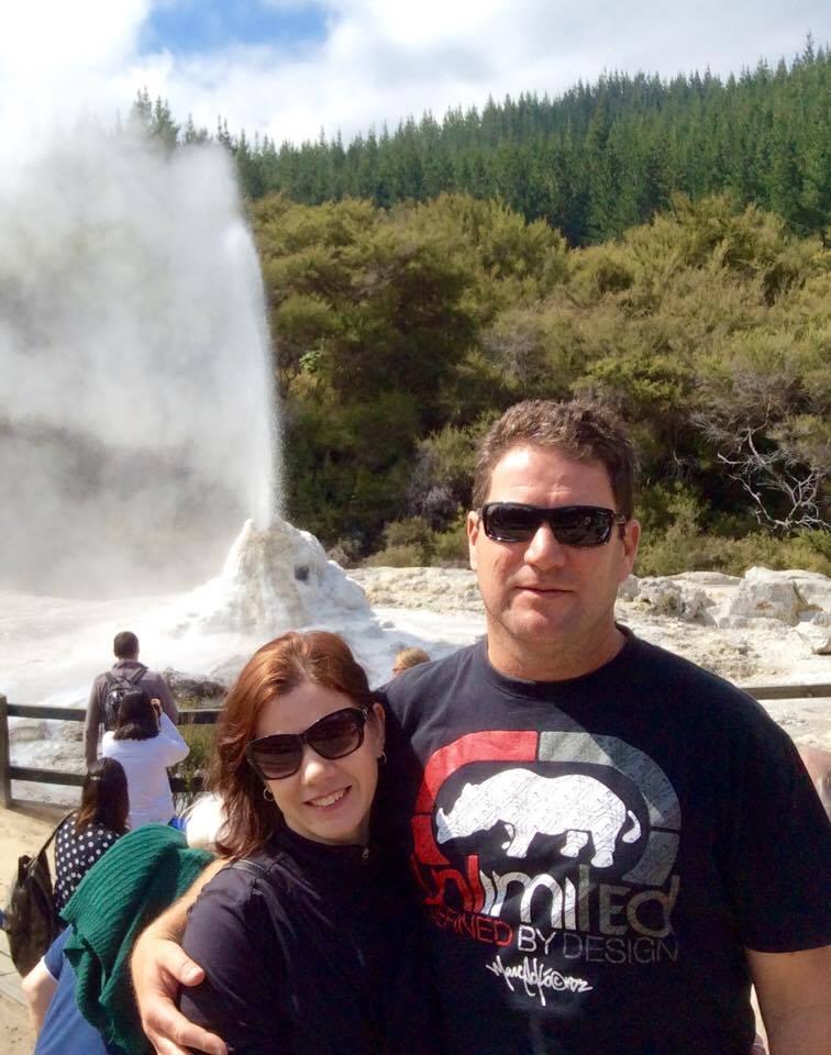 Gêiseres de Rotorua