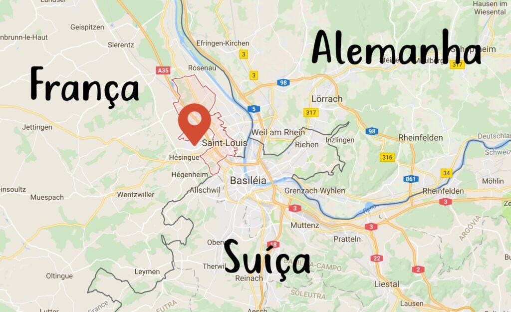 Vantagens de morar na fronteira da França, Suíça e Alemanha